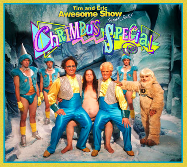 Zach Galifianakis Promotes Tim & Eric's Chrimbus Special as Tairy Greene