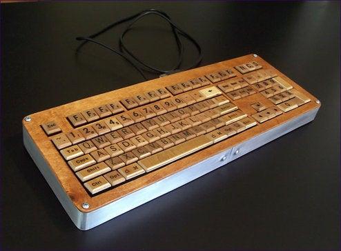 Homemade Scrabble Keyboard: Double Nerd Score