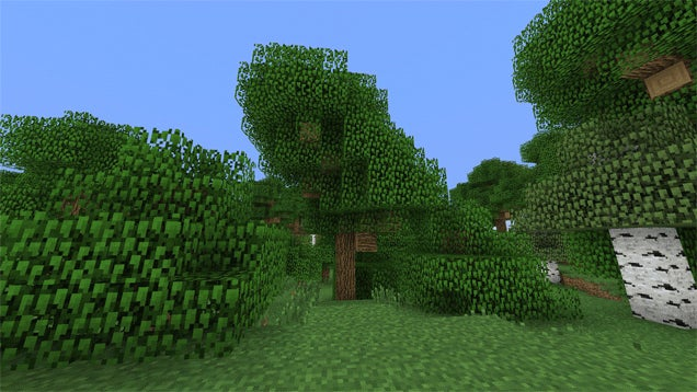 My PC Is Already Burning Looking At Minecraft's 'Better Foliage'