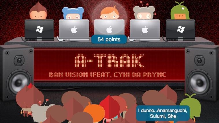 Nerdy DJ Turntable Web App Kind of Rocks