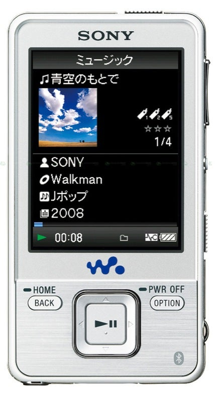 Sony NW-A829, NW-A828 Walkmans Come With Bluetooth Connectivity