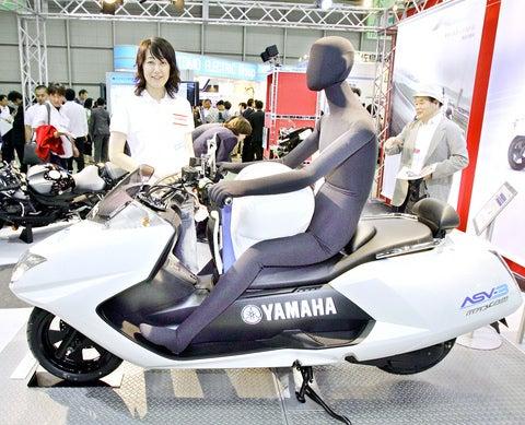 Yamaha's Crotch Air Bag