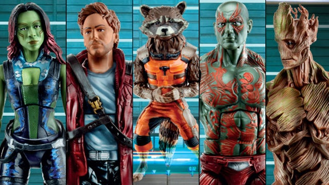 Guardians of the Galaxy toys show the softer side of Rocket Raccoon