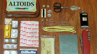 ​How To Build Your Own Altoids Tin Survival Kit