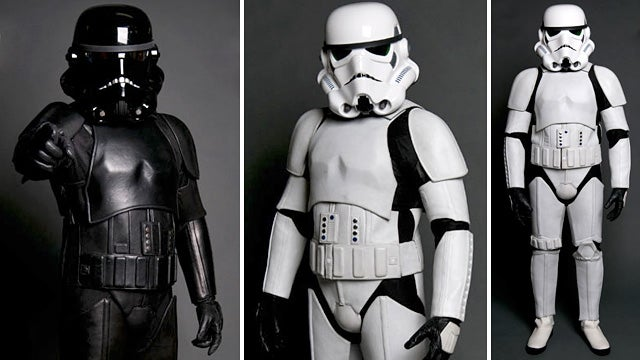 Leather Armor For Stormtroopers Who Prefer Harleys Over Speederbikes