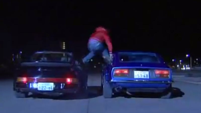 Haunted Z-Car Saved In Unintentionally Hilarious Japanese Chase Scene