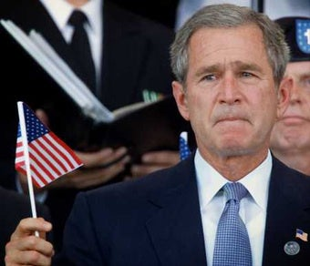 Bush 'Relieved' To Escape the Mess He Made