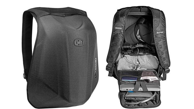 This Aerodynamic Backpack Won't Slow Motorcyclists