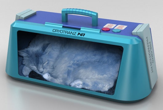 Keep Your Pets Frozen for Cryogenic Travel