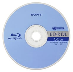 Sony Releases 50GB Dual Layer Blu-ray Discs