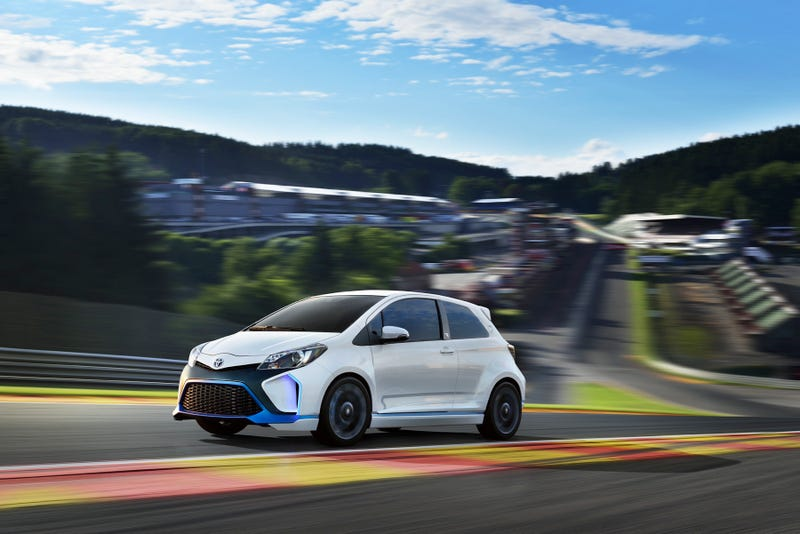 The 420 Horsepower Yaris Hybrid-R Is Like A Prius From Hell