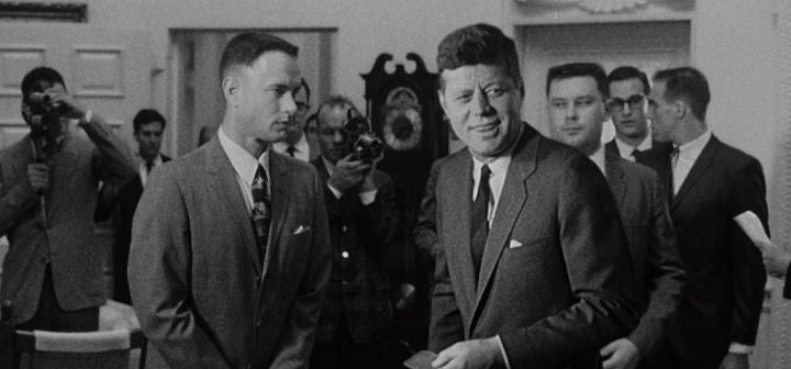 what three presidents did forrest gump meet