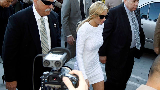 The Dress Lindsay Lohan Wore to Court Yesterday Is Now Sold Out