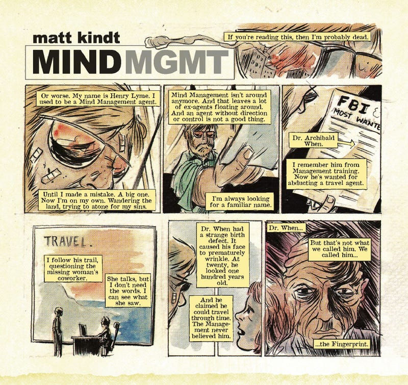 See for yourself why everybody's buzzing about the psychic war comic Mind MGMT