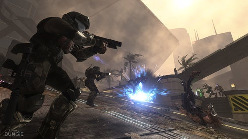 Halo ODST's Firefight Rally Point