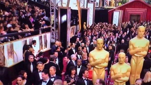 Look Who Was At The Oscars Tonight
