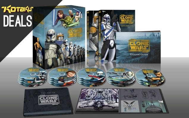 Clone Wars Collector's Edition, Titanfall for $37, Minecraft LEGO