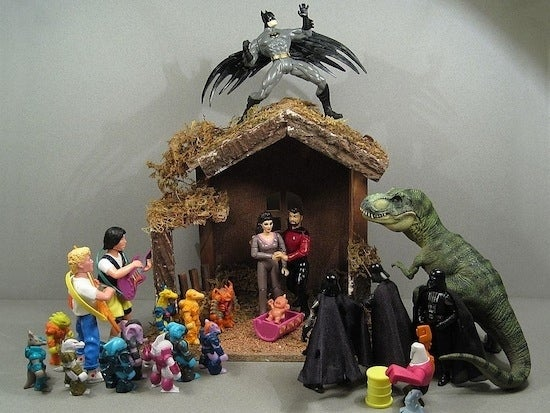 Finally, Nativity Scenes For Nerds, Goth Kids, And People Who Love Booze