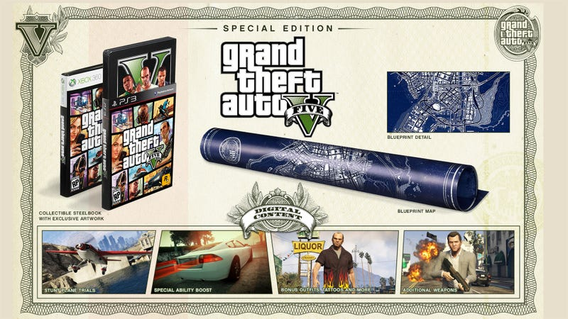 Get A Load Of Grand Theft Auto V's $150 Collector's Edition
