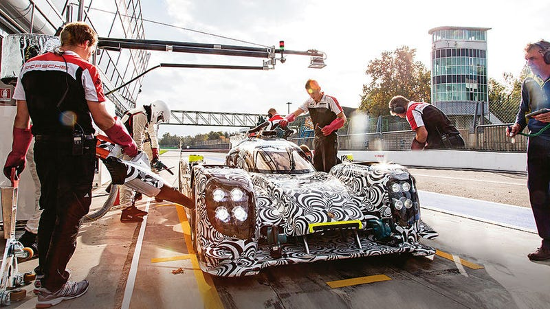 Porsche Amputates Pit Mechanic's Legs In Grievous Photoshop Fail