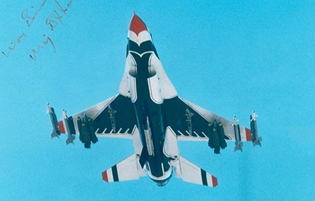 The One USAF Thunderbird Demo Plane That Suited Up For Combat