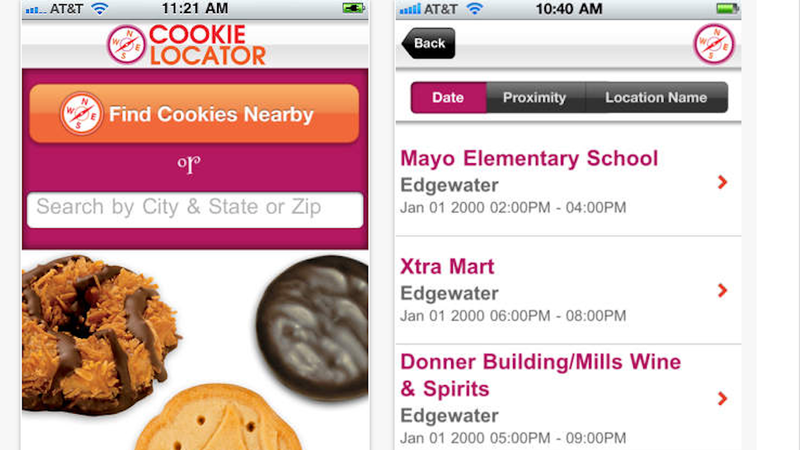 Finally: The Girl Scout Cookie Finding App of Your Dreams