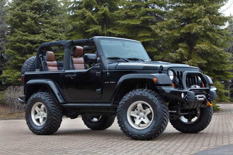 """Jeep's Mopar-tweaked concepts for """"holy week"""" of offroading"""