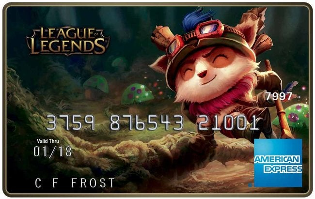 Get a League of Legends AmEx (It's a Debit Card, Though)