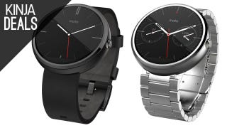 Strap a Moto 360 to Your Wrist for $179