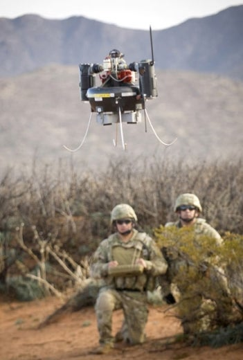 U.S. Army Future Combat System: Like Battlefield 2142, But in Real Life