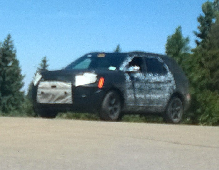 What's This Secret SUV Prototype Testing In Arizona?