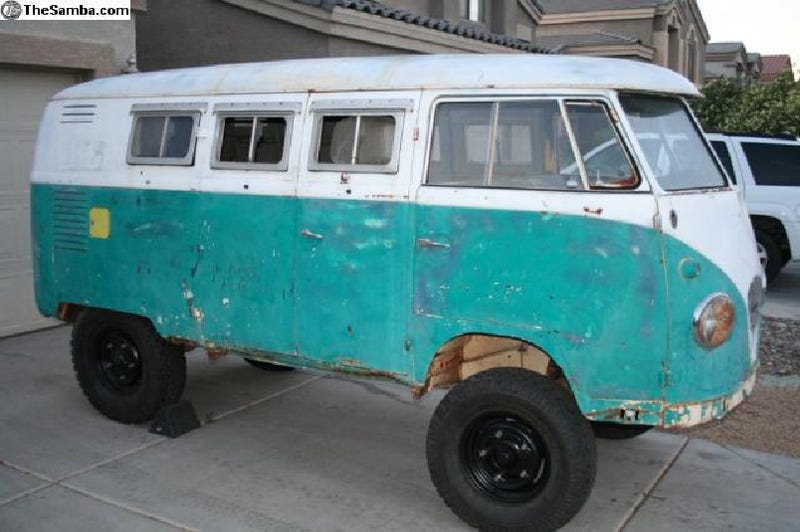 1958 Volkswagen Bus Highboy for $6,500!
