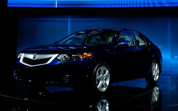 2009 Acura TSX, Officially Revealed!