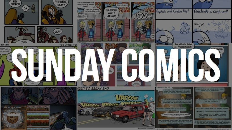 Sunday Comics: Expiration Date