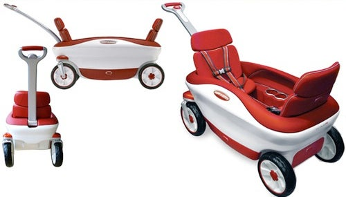Radio Flyer Cloud 9 Wagon Crushes My Youthful Memories With MP3 Player, Bucket Seats