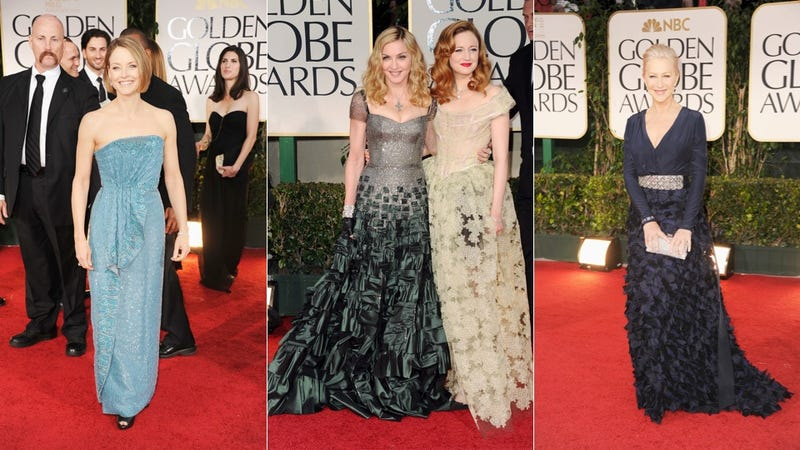 The Good, Bad & Hideously Ugly of the 2012 Golden Globes Red Carpet