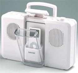 Suntac Bath-Time iPod Speakers