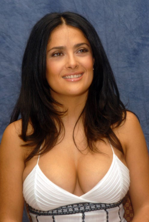 Salma Hayek's MobileMe Account Hacked, No Nudie Pics Found (Sorry!)