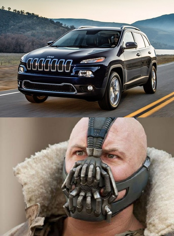 This is the only thing I can see when I look at the 2014 Jeep.