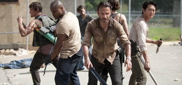 The Walking Dead went on summer vacation, came back tanned and handsome