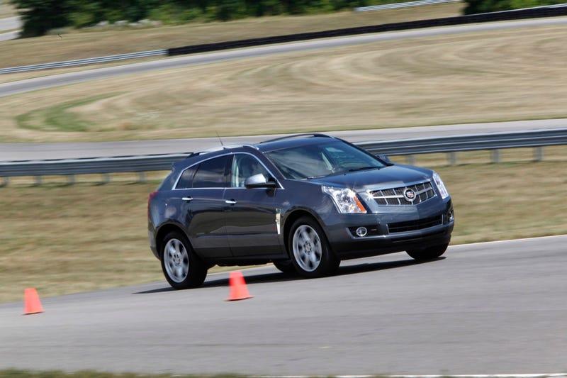 2010 Cadillac SRX 2.8T: First Drive
