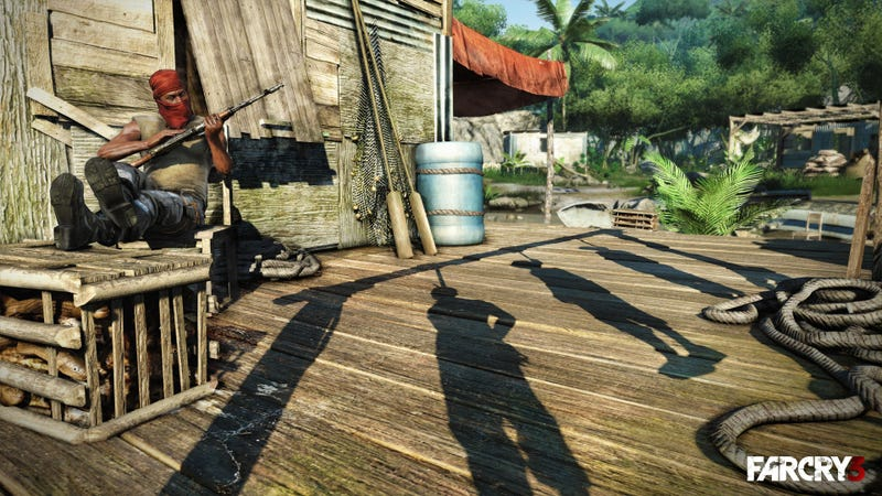 Far Cry 3 is Stabbing Guys In the Chest In 2012