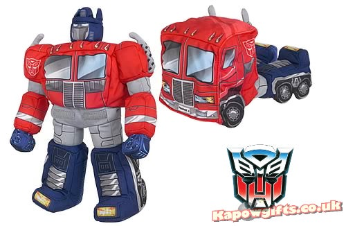 Transformers Plushies That Actually Transform