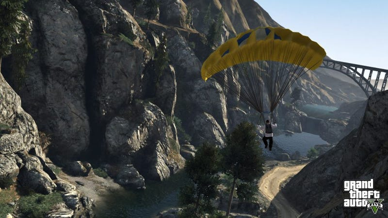 Holy Crap, Grand Theft Auto V Looks Gorgeous