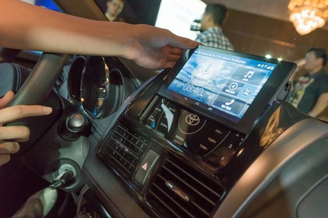 Toyota's New Cars Will Have a Nexus 7 Built Right Into the Dashboard