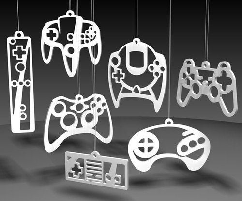 Deck The Halls With Video Game Ornaments