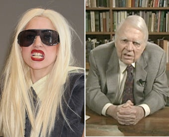 Andy Rooney on Lady Gaga: 'Who?'