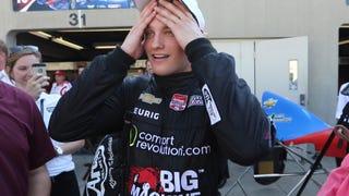 Franchitti, Kanaan, Dixon Wrap 20-Year-Old Teammate's Camaro in Pink