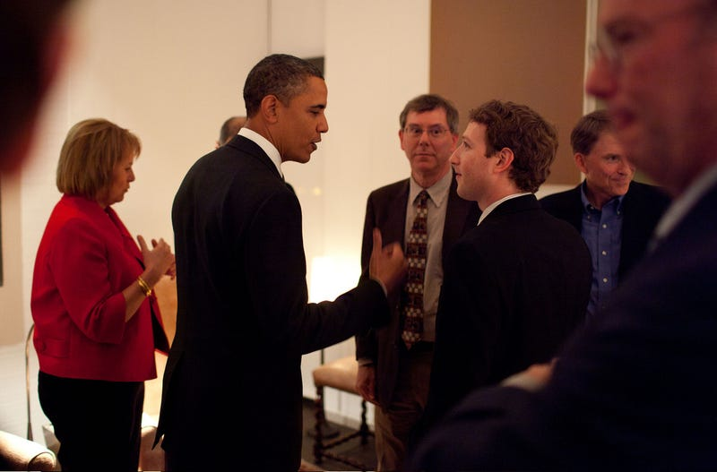 Steve Jobs, Mark Zuckerberg Wined and Dined by Obama