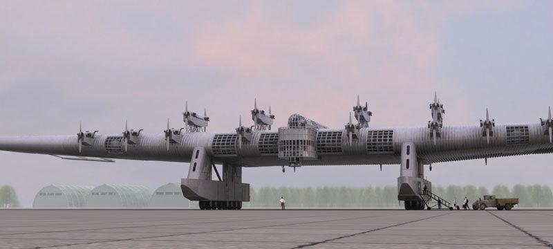 Russian K7 Flying Fortress Renderings